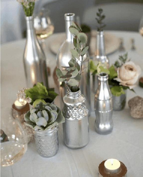 decorar y reciclar botellas 7