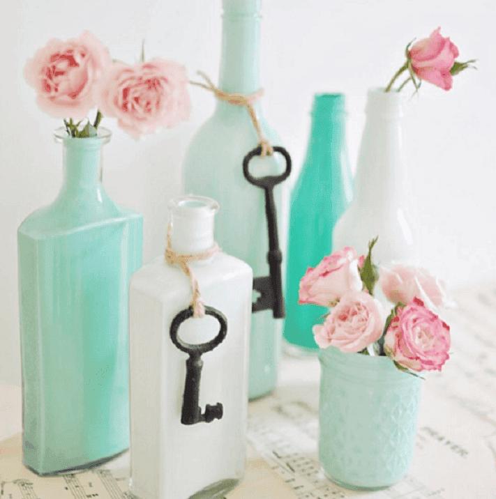 decorar y reciclar botellas 8