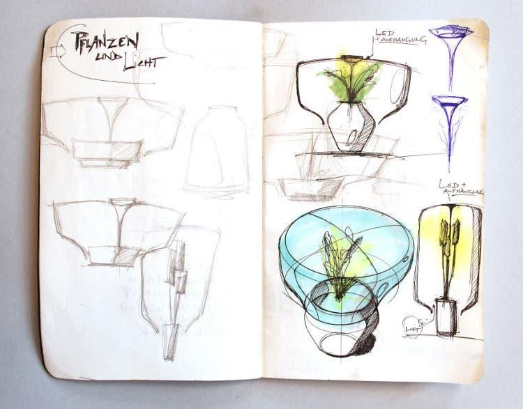 lámparas con plantas 4