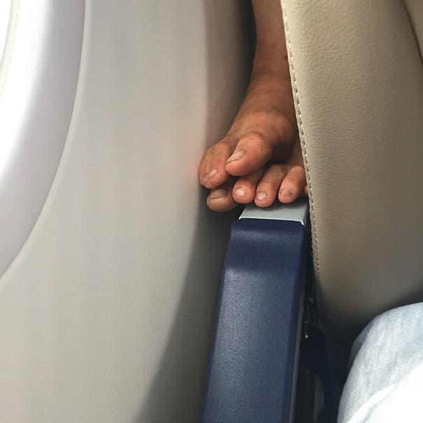 pasajeros molestos avion 1