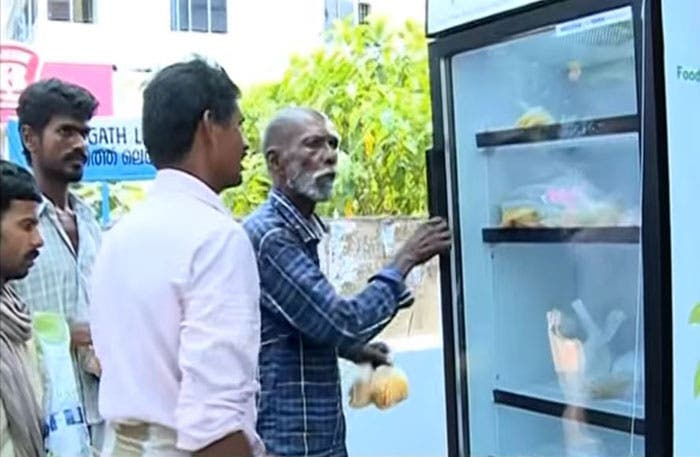 refrigerador para personas sin hogar 5