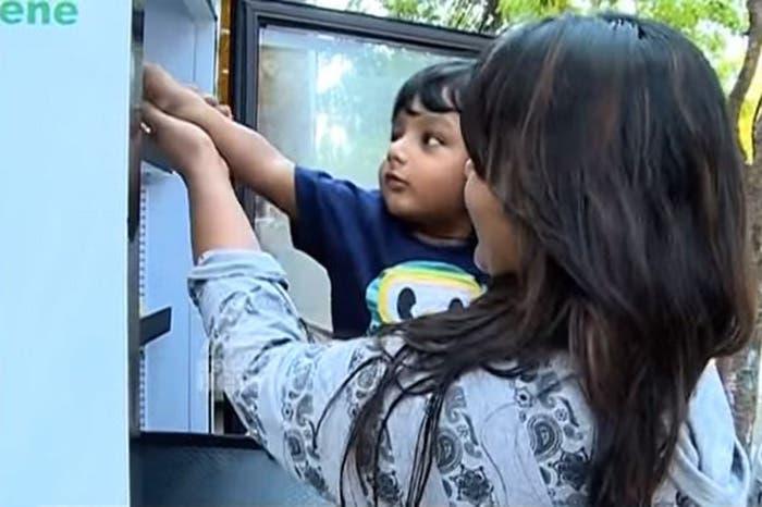 refrigerador para personas sin hogar 7
