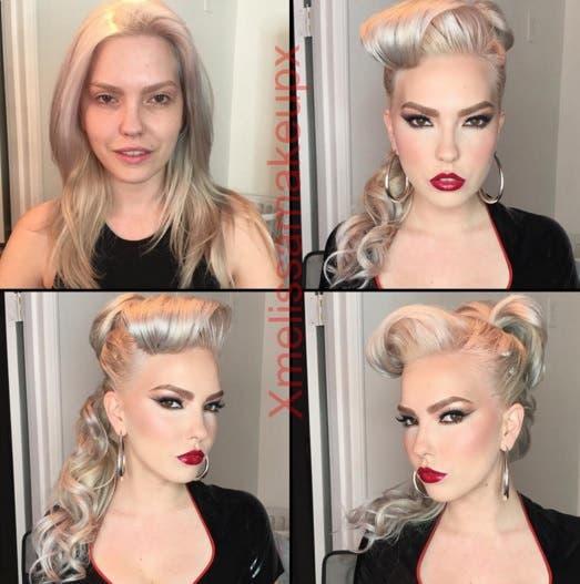 transformacion maquillaje 15