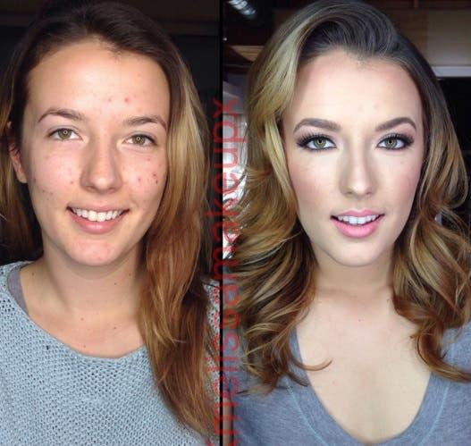 transformacion maquillaje 17