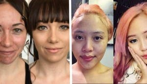 transformacion maquillaje id