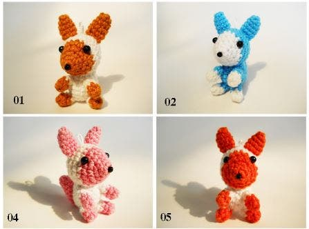 animalitos crochet 6