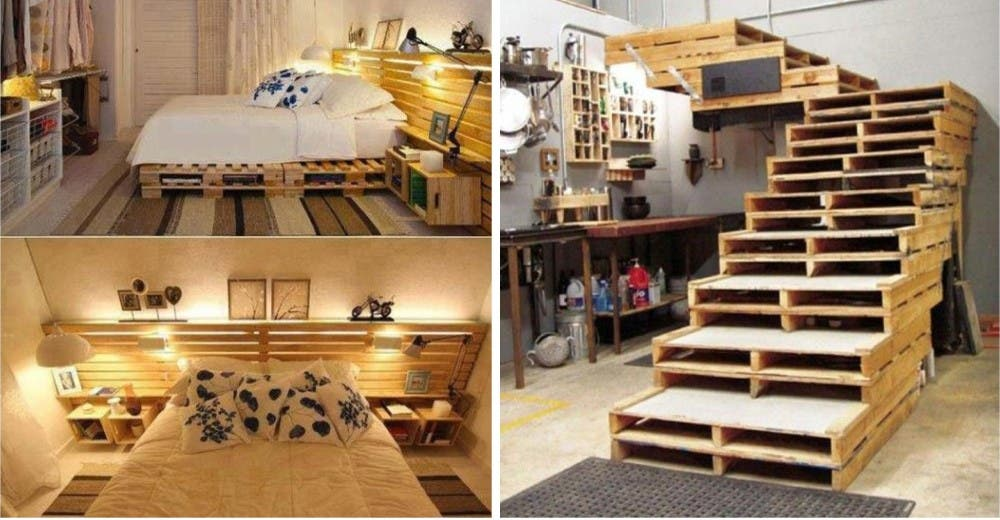 Mueble palet muebles que puedes crear con palets for Construir muebles con palets