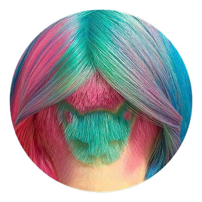 corte sesgado gato arcoiris 3