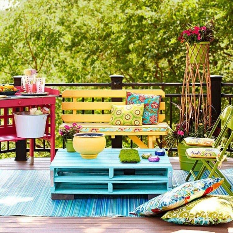 Tienes un balcón en casa y deseas decorarlo? Aquí tienes 12 ideas ...