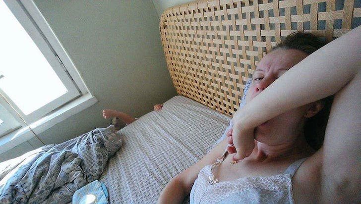 madre selfie stick 2