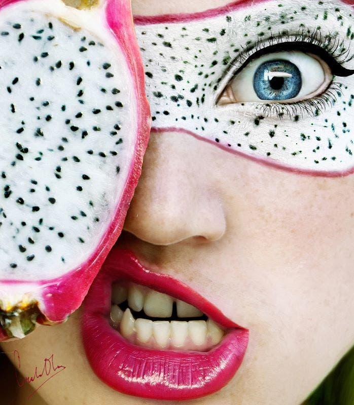 maquillaje de frutas 15