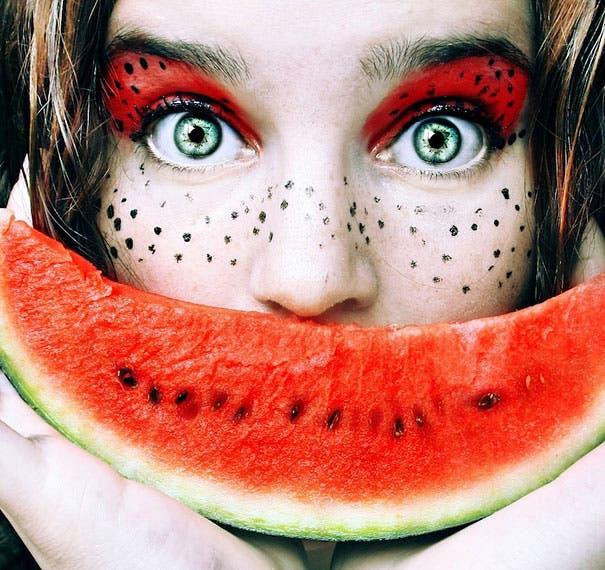 maquillaje de frutas 3