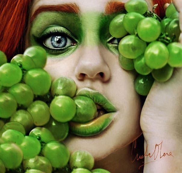 maquillaje de frutas 4