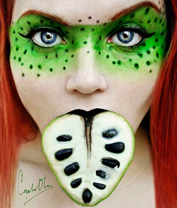 maquillaje de frutas 9