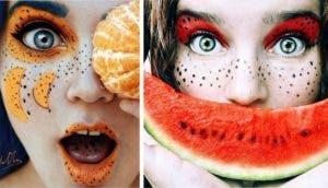 maquillaje de frutas id