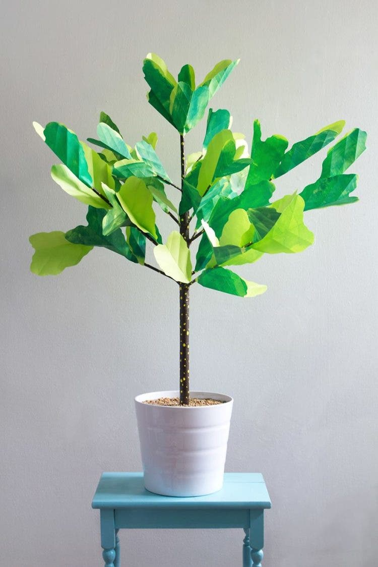 plantas de papel 9