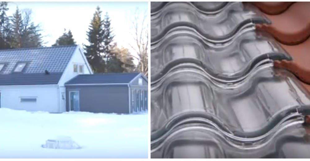Crean tejas solares que dan energía y calientan la casa en invierno