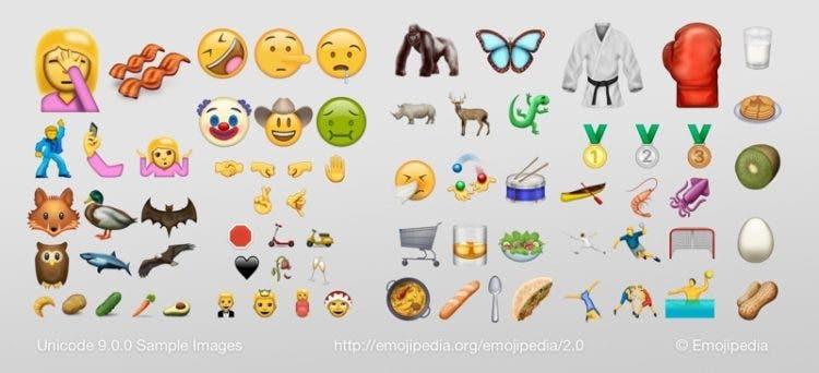 72 emojis