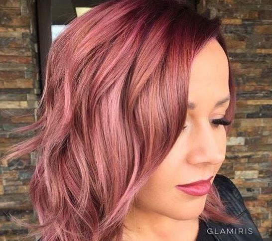 cabello rosa dorado 10