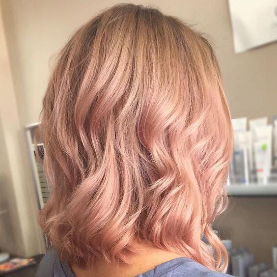 cabello rosa dorado 2
