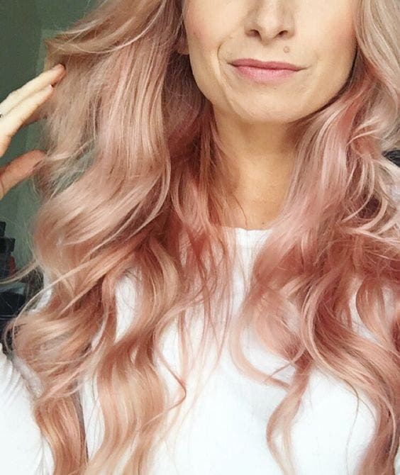 cabello rosa dorado 3