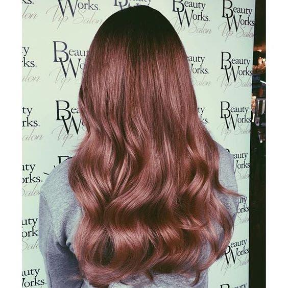 cabello rosa dorado 5