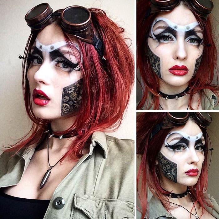 maquillaje saida 9