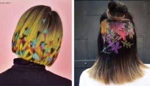 plantillas de cabello id