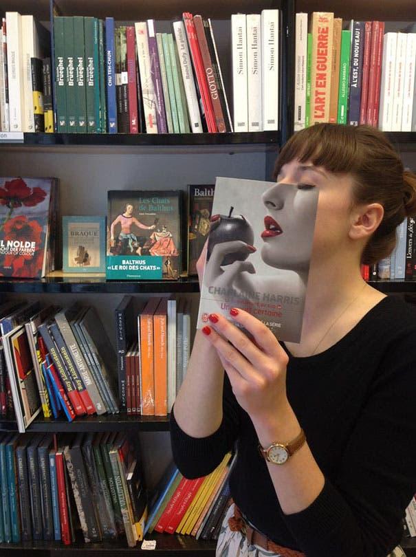 ilusion optica con libros 1