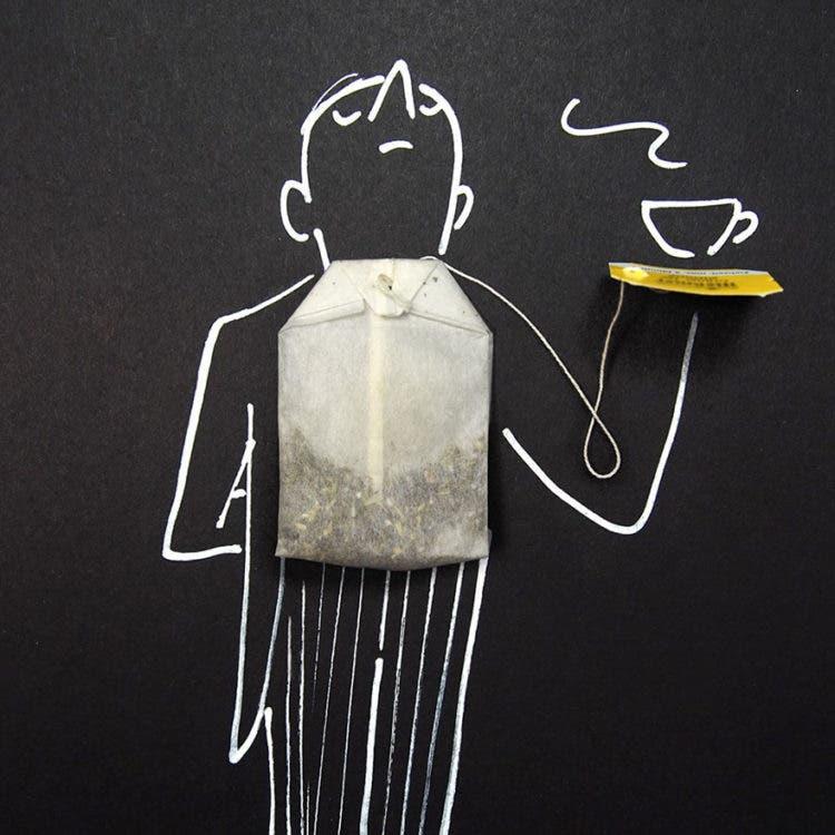 ilustraciones con objetos 11