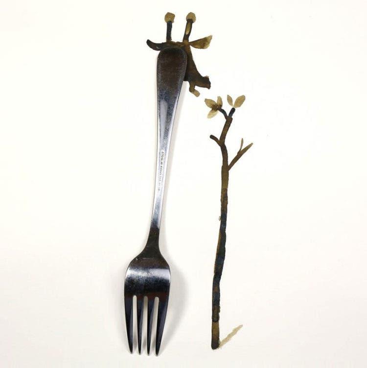 ilustraciones con objetos 14
