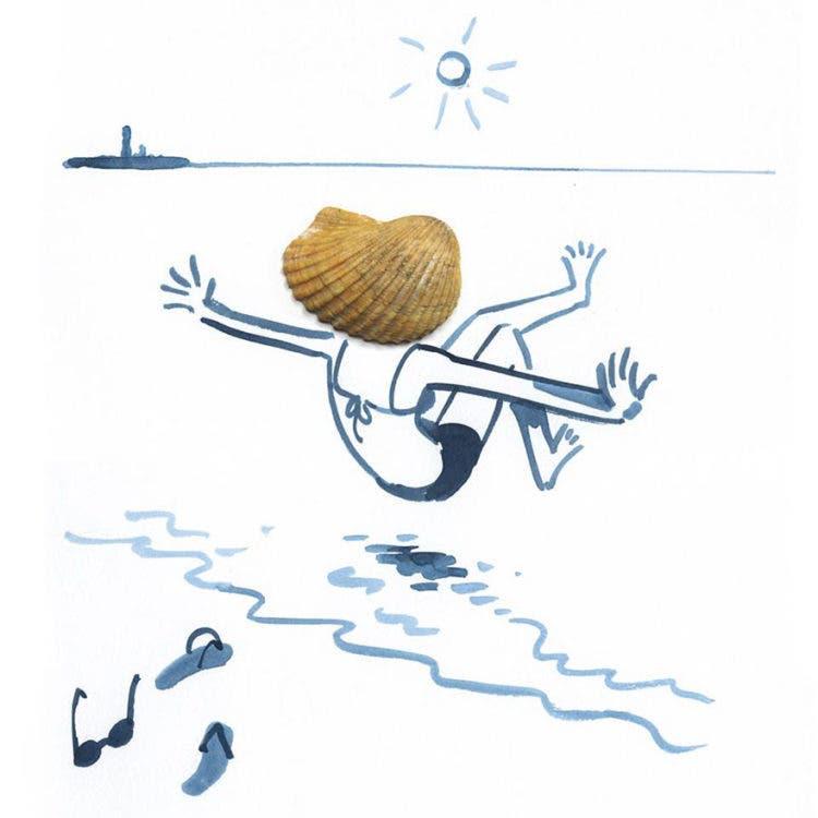 ilustraciones con objetos 16