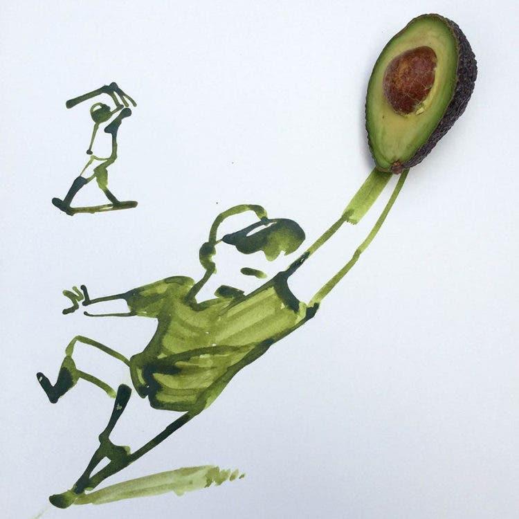 ilustraciones con objetos 6