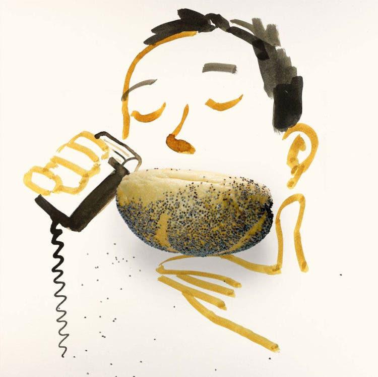ilustraciones con objetos 7