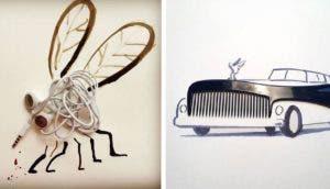 ilustraciones con objetos id