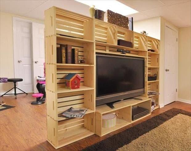 muebles con huacales 12
