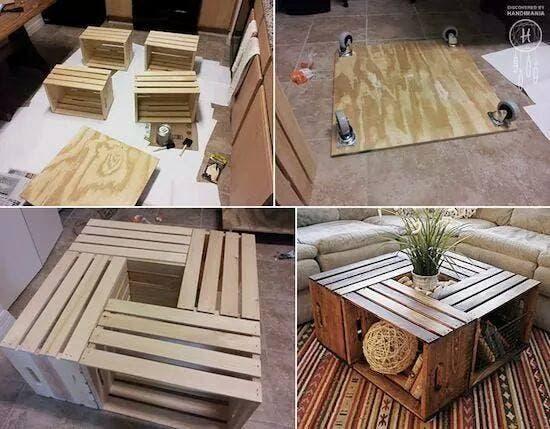 muebles con huacales 4