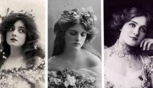 mujeres hermosas 1900s