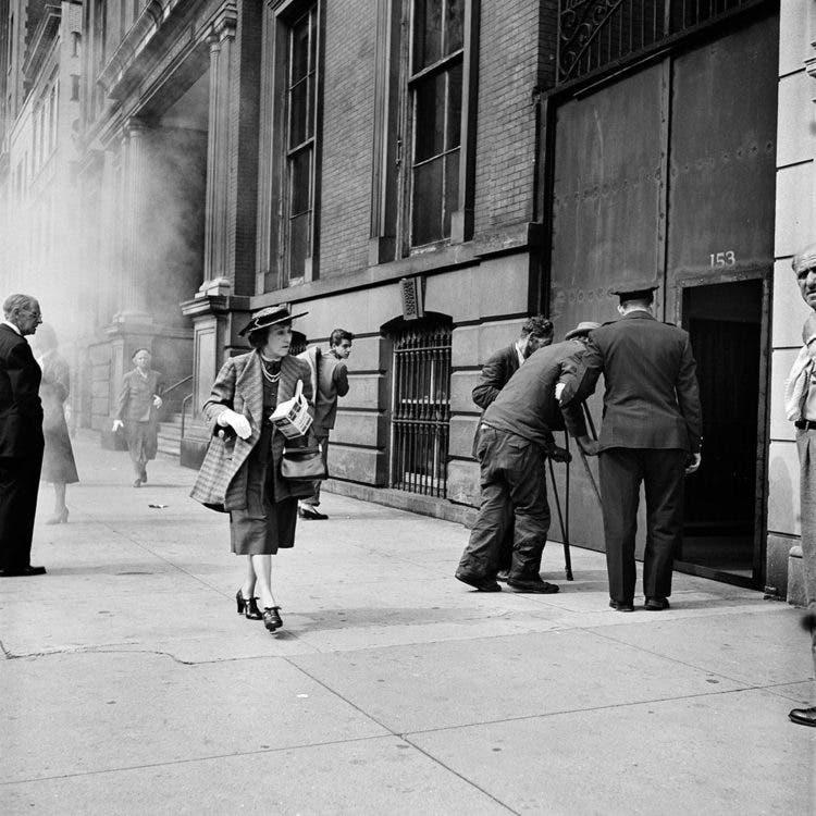 Fall 1953, New York, NY