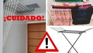 peligro-secar-roba-en-habitaciones
