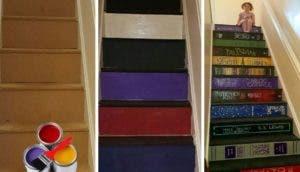 escalera-decorada-con-libros-favoritos