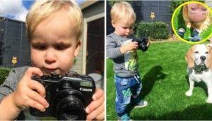 nino-de-10-meses-con-camara-de-fotos