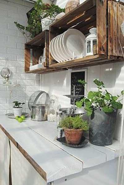 25 creativas ideas para fabricar muebles de cocina utilizando ...