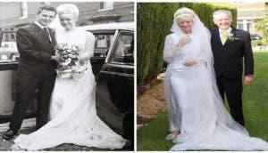 portada-pareja-celebra-50-aniversario-luciendo-el-mismo-traje-que-usaron-en-su-boda