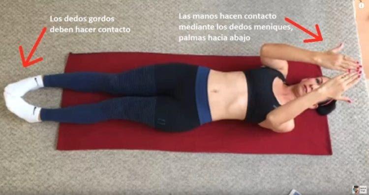 Metodo japones para reducir cintura en 5 minutos