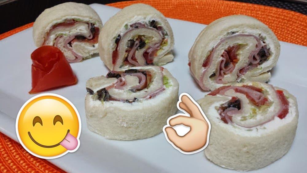 Prepárate para disfrutar deliciosos sándwiches en forma de sushi