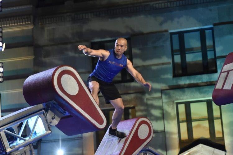 verdadero guerrero ninja Parkinson Jimmy Choi American Ninja Warrior 41 años carrera de obstaculos