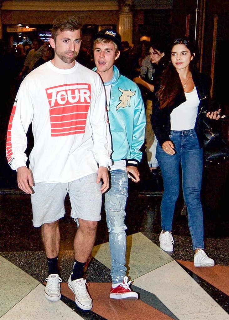 presume colombiana novia de Justin Bieber mexicana paola paulin Luz Amparo Cadavid y el mexicano Ernesto Paulín paparazzi iglesia hollywood girlfriend baller the rock dwayne johnson