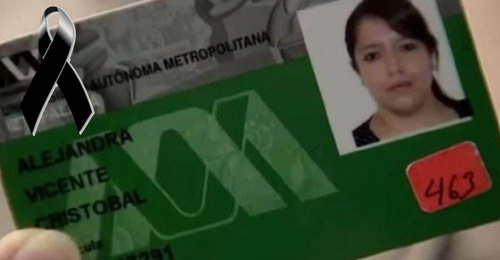 Le roban tarjeta y sus ahorros después de fallecer en el terremoto de México Alejandra Vicente compras 1800 usd credit card savings stolen