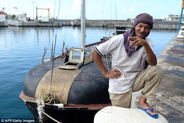 Naufrago polaco rescatado de barco a la deriva solo con su gato por siete meses en aguas infestadas de tiburones Zbigniew Reket Madagascar